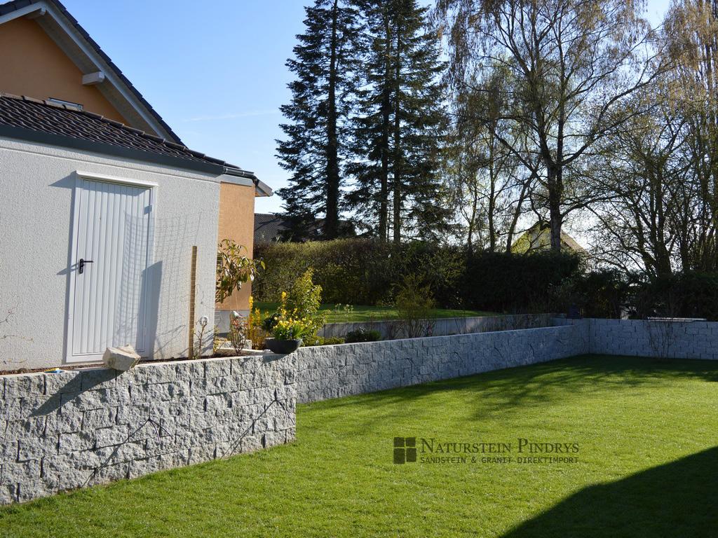 15x20x40 cm granit mauersteine 2x ges gt. Black Bedroom Furniture Sets. Home Design Ideas
